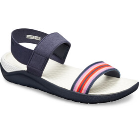 Crocs LiteRide Sandals Damen navy colorblock/navy